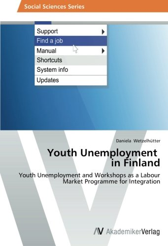 Youth Unemployment   in Finland: Youth Unemployment and Workshops as a Labour Market Programme for Integration ebook