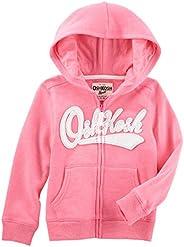 OshKosh Girls Full Zip Logo Hoodie