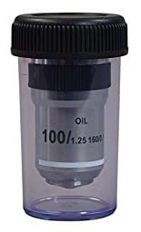 OMAX 100X Achromatic Objective Lens (s, o)for Compound Microscopes