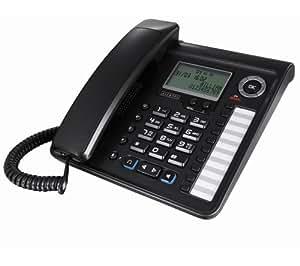Alcatel Temporis 700 Pro - Teléfono fijo analógico (altavoces, manos libres), negro