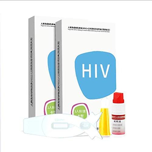 KMDB HIV Test Self, Test Kit Blood for Immunodeficiency Virus Personal Testing, Accurate and Simple and Convenient(one…