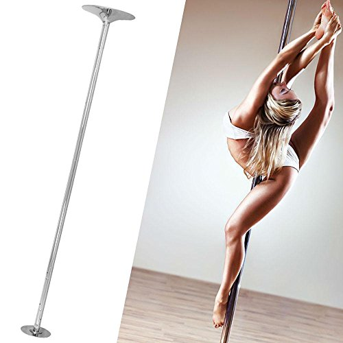 Topeakmart 45mm Removable Dancing Pole Kit Portable Fitness Dance Sport Exercise Club Party Pub Home Dance by Topeakmart