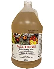 PAUL DUPRE 11% White Cooking Wine, 3.78 Liter