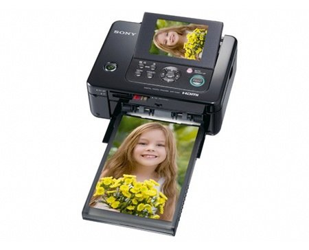 Sony DPP-FP97 Picture Station Photo Printer with Built-in 3.5-Inch LCD Tilt-Adjustable Display