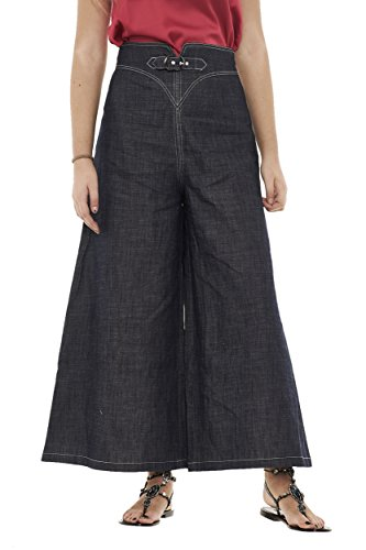 Blu Armani Emporio Pantalon Femme Denim w6xPqRvn