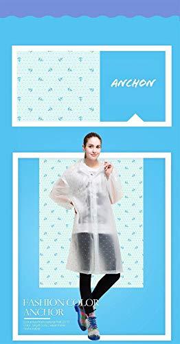 Color Mode Sólido 4 Chaqueta Con Cordón Stil Nr Lluvia Las Delanteros Impermeable Mujeres La Capucha Bolsillos Botones Marca De wv0xUz