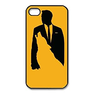 iphone4 4s Phone Case Black Wolf Of Wall Street KMH4939827