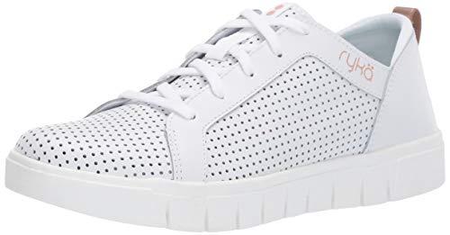 Ryka Women's Haiku Sneaker, White, 8 M US