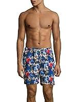 Tommy Bahama Naples Hula Holidays Swim Trunks (Color: Throne Blue, Size M)