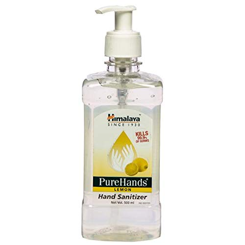 Buy Himalaya Purehands Hand Sanitizer Lemon 500 Ml Pack Of 3