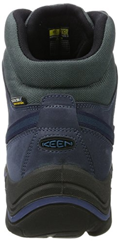 KEEN Mens Galleo Mid WP-m Hiking Boot Oceana/Night Yz65zuZTM