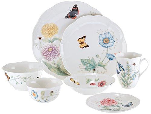 Lenox 28 Piece Butterfly Meadow Classic Dinnerware Set by Lenox (Image #1)