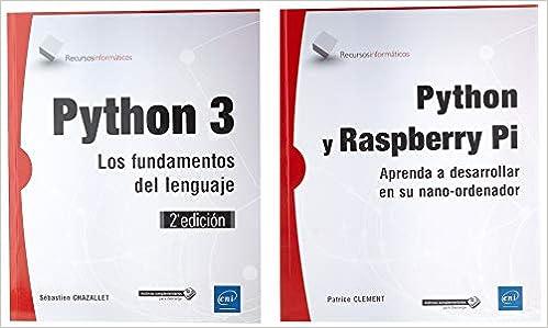 Python y Raspberry. Pack de 2 libros: Aprenda a desarrollar en ...