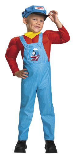 Thomas The Tank Engine Classic Muscle Costume - Large (4-6) (Thomas The Tank Engine Costume)