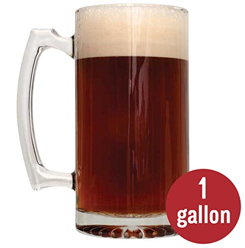 2-Pack 1 Gallon Malty Homebrew Beer Recipe Kits - Caribou Slobber Brown Ale Recipe Kit and Irish Red Ale Recipe Kit - Malt Extract and Ingredients for 1 Gallon