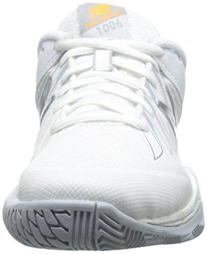 nbsp;V1 Plateado wc1006 tenis Blanco de nbsp;Zapatillas Mujer New Balance q7xAqp