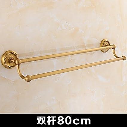 Accesorios de baño Yomiokla - Toalla de metal para cocina, inodoro, balcón y bañoTodo
