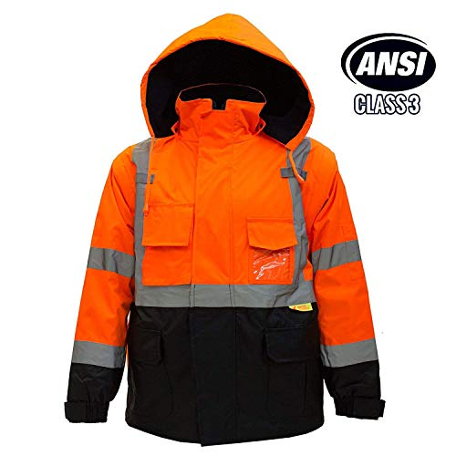 Troy Safety New York Hi-Viz Workwear Men