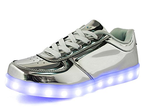 Brillant Dayiss Soir Chaussures Charge Sport 7 Sneakers Couleur Led De Baskets Crane Usb zxg7dq