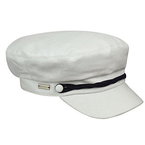 Betmar Women's Seaport Cap, White, 1SFM ()