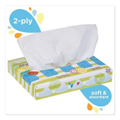 Kleenex 21195 White Facial Tissue, 2-Ply, 40 Tissues/box, 80 Boxes/carton by Kleenex (Image #1)