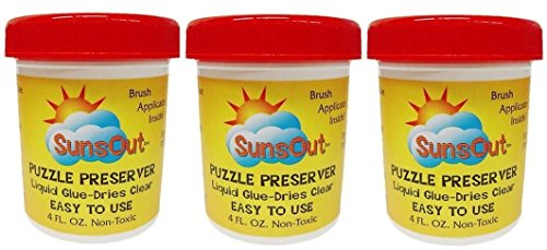 Sunsout Puzzle Preserver Glue (3-Pack)
