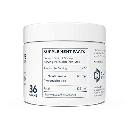 NMN - Nicotinamide Mononucleotide (36 Grams) - Certified 99