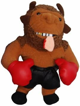 InFamous Meanies Mike Bison and Donkeyng Plush