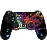 the grafix studio Paint Splats Playstation 4 (Ps4) Controller Sticker / Skin / Decal / Ps30