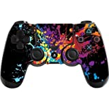 Playstation 4 Ps4 Controller Skin In Brushed Gold Metal