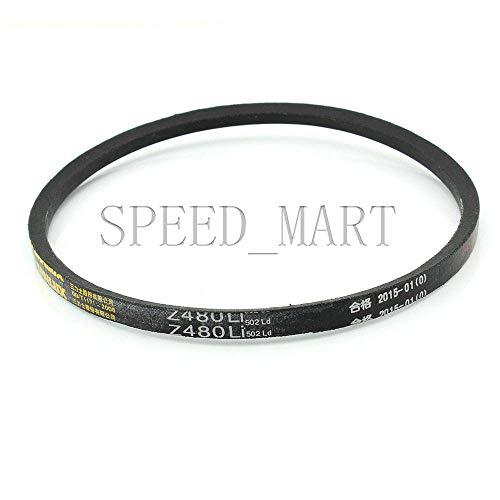 (FidgetFidget Belt Z480 Black Rubber 480mm Inner Perimeter Z Type Vee V Drive for V)