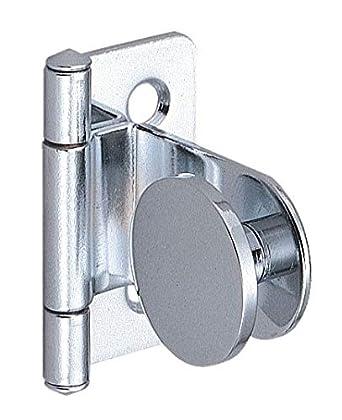 Amazon.com: Bisagra para puerta de vidrio, acero inoxidable ...