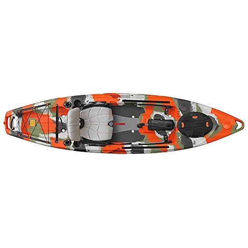 Feelfree Lure 11.5 Kayak 2017 - 11ft6/Orange Camo -  67273
