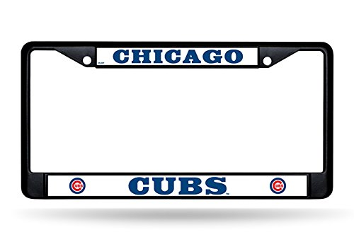 Thing need consider when find chicago cubs license plate frame metal?