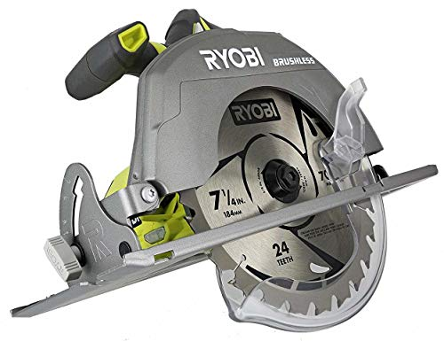 Roof Laser Cut (Ryobi P508 One+ 18V Lithium Ion Cordless Brushless 7 1/4 3,800 RPM Circular Saw w/ Included Blade (Battery Not Included, Power Tool Only))
