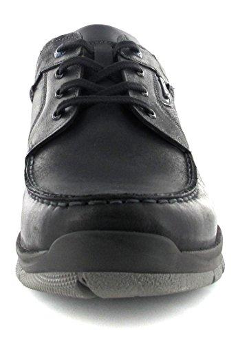FRETZ MEN - Sprinter - Herren Halbschuhe - Schwarz Schuhe in Übergrößen