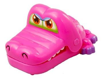 Cocodrilo de juguete dentista con llavero (rosa): Amazon.es ...