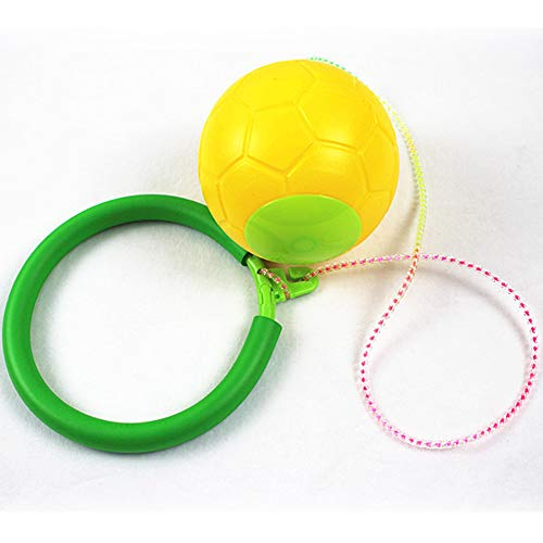 TEBE Skip Ball - Jumping Toy Swing Balls - Great Fitness Game for Men and Women, Old and Young -
