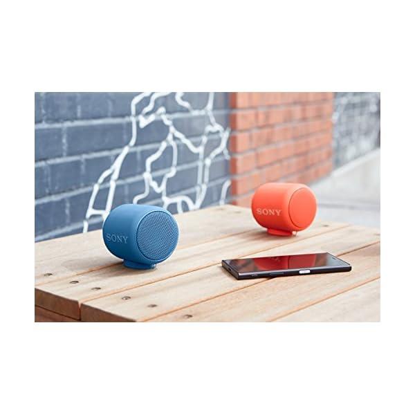 Sony SRS-XB10L Enceinte portable compacte sans fil Bluetooth NFC - Bleu 5