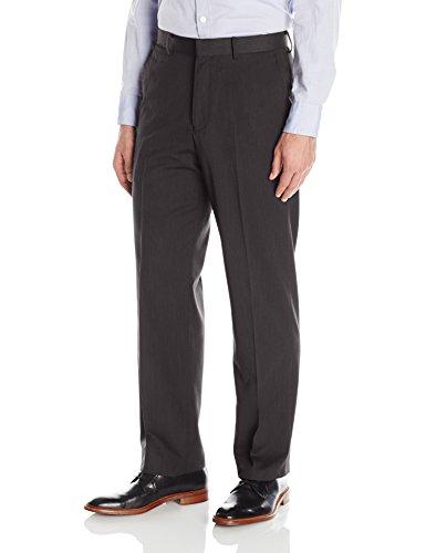 Palm Beach Men's Oxford Plain Suit Separate Pant, Charcoal Pinstripe, 36W X (Palm Beach Stripe)