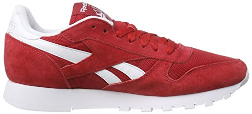 White Scarpe Rot Rosso Leather Red Excellent Reebok Corsa is Uomo Classic da qwRngtP8x