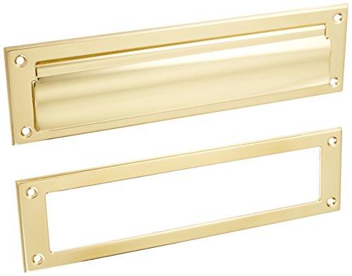 Ives 620B-US3 Polished Brass Letter Box (Polished Brass Letter Plate)