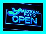 PEMA Neon Sign i024-b OPEN Mexican Restaurant Neon Light sign