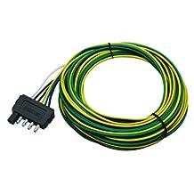 Wesbar 5-Way Flat Trailer Connector Wishbone Harness, 48-Inch