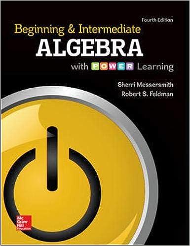 beginning and intermediate algebra 4th edition free download