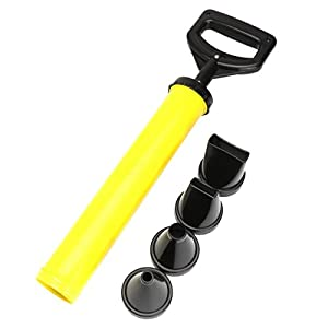 SODIAL(R) Mortar Pointing + Grouting Gun Sprayer Applicator Tool for Cement lime 4 Nozzle