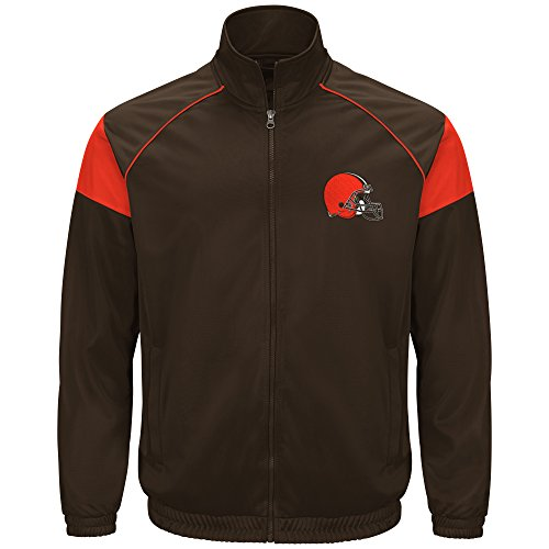 G-Iii Sports by Carl Banks Dash Track Jacket, Xx-Large, Brown ()