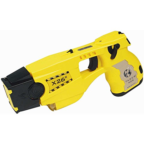 8. Taser X26C With Laser Light Including Six Cartridges and Holster Black