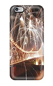 For Case Cover For Apple Iphone 6 Plus 5.5 Inch Protector Case Fireworks Over Bridge Phone Cover