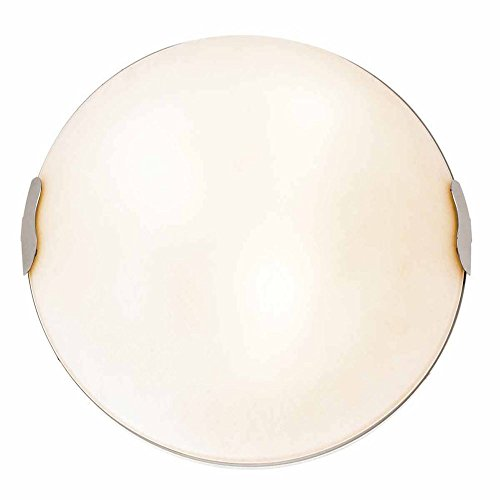 (Access Lighting Linen C23024BSTEXEN1318BS Fluorescent Flush)